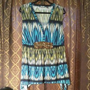 Elements sleeveless blouse